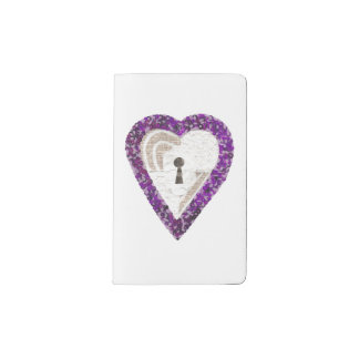 Locker Heart Custom Notebook