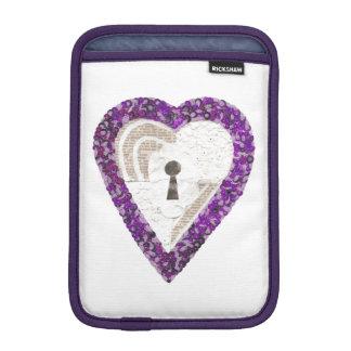 Locker Heart I-Pad Mini Sleeve
