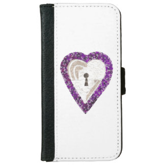 Locker Heart I-Phone 6/6s Wallet Case
