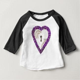 Locker Heart Kid's Raglan Top
