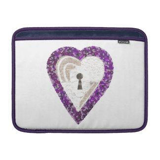 Locker Heart Macbook Air Sleeve