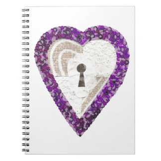 Locker Heart Notebook