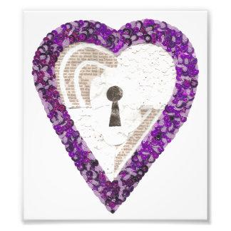 Locker Heart Photo