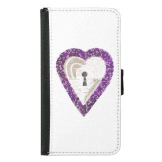 Locker Heart Samsung Galaxy S5 Wallet Case