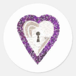 Locker Heart Stickers