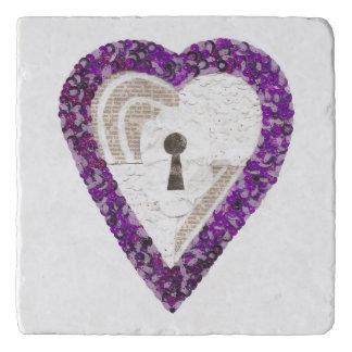 Locker Heart Trivet