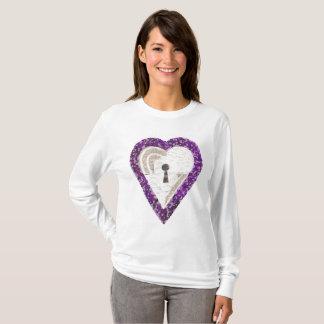 Locker Heart Women's Jumper T-Shirt