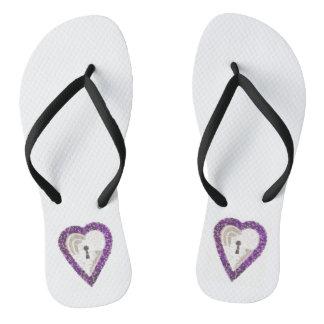 Locker Heart Women's Sandals