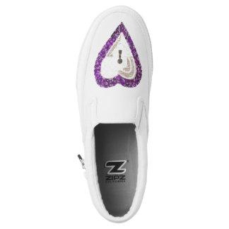 Locker Heart Women's Slip On Shoes