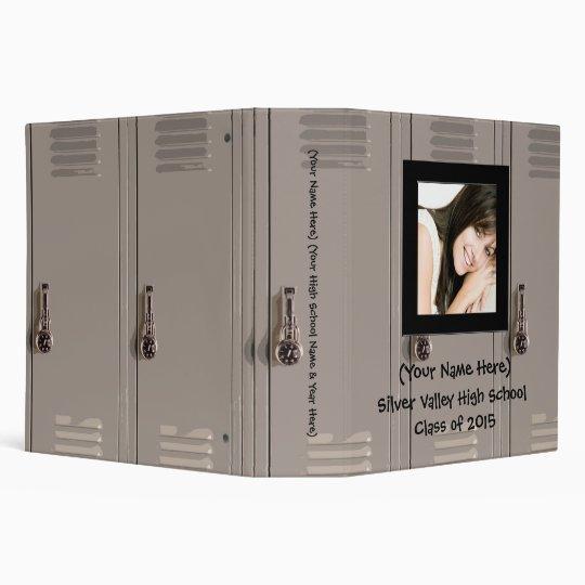 Locker Photo Memory Book Graduation Binder
