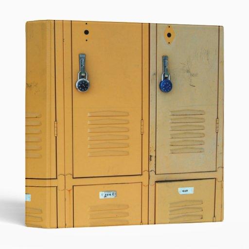 Lockers Vinyl Binders