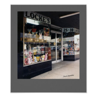 Locke's McMinnville Tennessee Poster