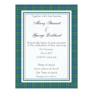 Lockhart Scottish Wedding Invitation