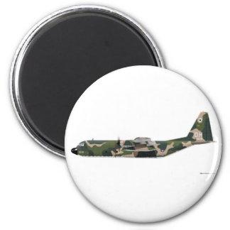 Lockheed C-130 Hercules Vietnam 2 Inch Round Magnet