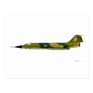 Lockheed F-104 Starfighter Postcard