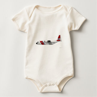 Lockheed HC-130 Hercules Coast Guard Baby Bodysuit