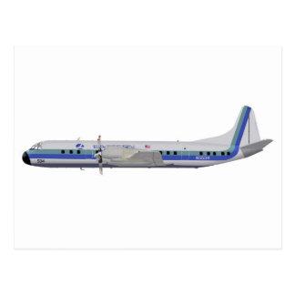 Lockheed L-188 Electra N5534 Postcard