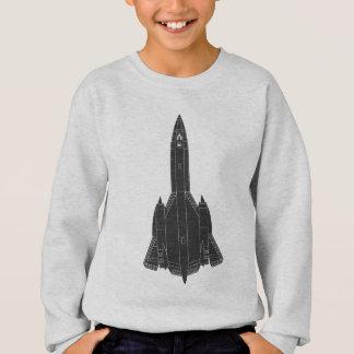 Lockheed SR-71 Blackbird Blueprint Sweatshirt