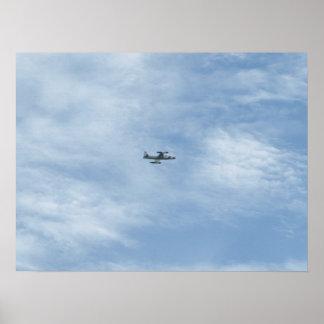 "Lockheed T-33 ""étoile filante"" chez Shaw AFB, S.C. Poster"