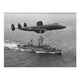 Lockheed WV-2 Super Constellation Postcard
