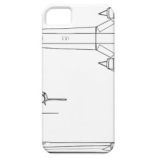 Lockheed_YF-12A_3view Case For The iPhone 5