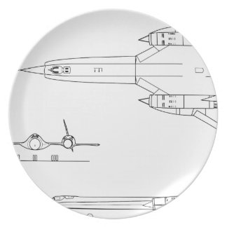 Lockheed_YF-12A_3view Plate