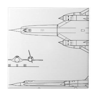 Lockheed_YF-12A_3view Tile
