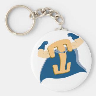 Locking Clip Man Keychain