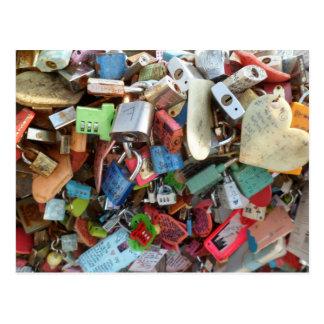 Locks of Love (3) Postcard