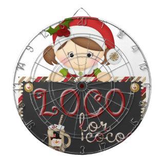 Loco for Cocoa Dartboard