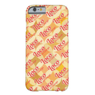 Loco in Chargo Bold Pattern Background Barely There iPhone 6 Case