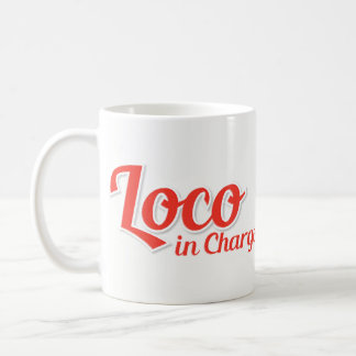 Loco in Chargo Bold Red Coffee Mug
