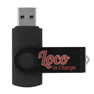 Loco in Chargo Bold Swivel USB 3.0 Flash Drive