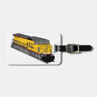 Locomotive 1 luggage tag