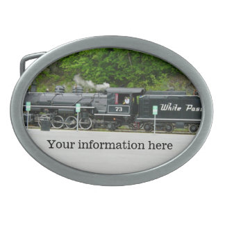 Locomotive Belt Buckle