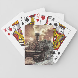 Locomotive Playing Cards, Standard Index faces. Playing Cards