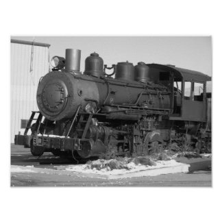 Locomotive Print