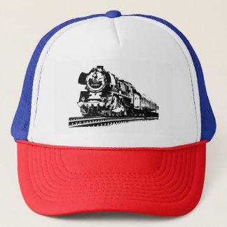 Locomotive Silhouette Trucker Hat