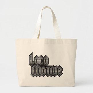 LocoMotive-StackMetal Large Tote Bag