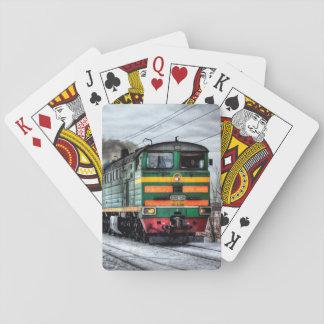 Locomotive Steam Engine Train Cards