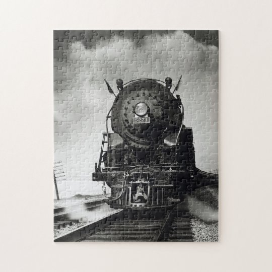 Locomotive to steam jigsaw puzzle