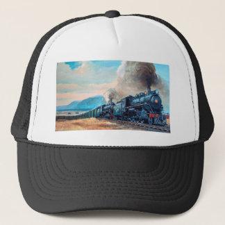 Locomotive Train Trucker Hat
