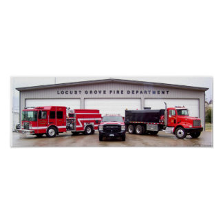 Locust Grove Fire Department Poster
