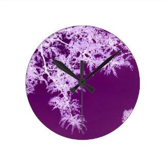 Locust Leaves I Clocks