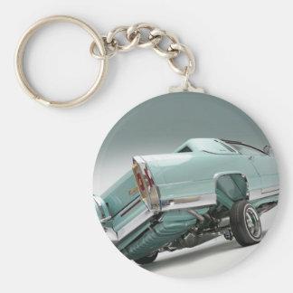 LoCusts - Lowrider 'n Custom Cars Basic Round Button Keychain