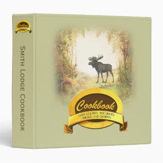 Lodge Cookbook Vinyl Binders