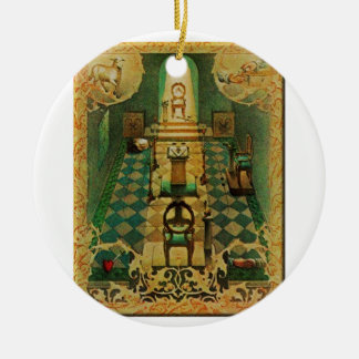 lodgeroom ceramic ornament