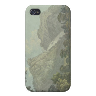 Lodore Rocks - fall & cottage distance (pen & ink iPhone 4 Cases