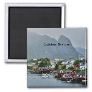 Lofoten, Norway scenic landscape photograph Magnet
