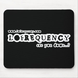 Lofrequency Logo2 Mousemat Mouse Pad